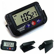 Nako Digital LCD Dashboard Clock Timer Alarm Calender With Flexible Stand + Wrty