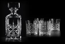 Whiskyset Highland Nachtmann 5-teilig,Whiskykaraffe und 4 Whiskygläser, Neu, OVP