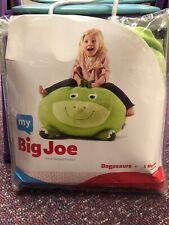 My Big Joe Kids' Bagosaurs Green Bean Bag Chair Cover Fill It Yourself New Cute