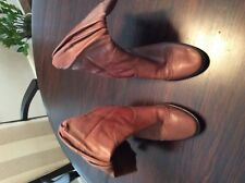 BCBG Size 8 Brown Cowboy Boots