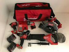 Milwaukee 2998-25 M18 FUEL 5 Tool Cordless Combo Kit LN M