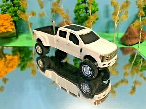 1/64 Custom Ford F350 Crew Cab, G5 Lift Kit Farm Toy Ertl Rear Bed Exhaust Pipe