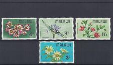MALAWI  1966  WILD FLOWERS  SET OF 4     MNH