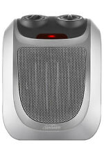 NEW Sunbeam HE2055 Compact Ceramic Fan Heater: Grey