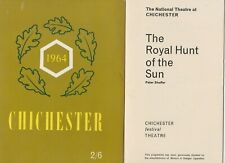 1964 CHICHESTER FESTIVAL THEATRE * LAURENCE OLIVIER * SOUVENIR PROGRAMME