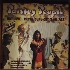 "Paisley People ‎– Hot Love / Metal Guru / Get It On (Vinyl, 12"", Maxi 33 Tours)"