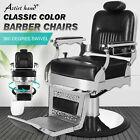 All Purpose Vintage Heavy Duty Hydraulic Recliner Barber Chair Salon Beauty