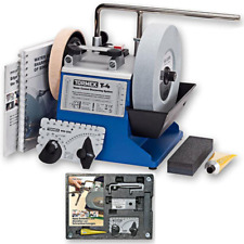 """Tormek T4 Water Cooled Precision Tool Sharpening System with 8"""" Stone"""