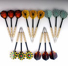 15 pcs(5 sets) of Steel Tip Darts Metal Point Dart Replacement Dartboard Durable