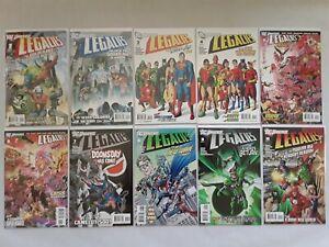 DC Universe: Legacies Full Run Comic Book Set #1-10 2011 Kubert art