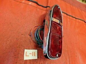Triumph TR250, TR4, Lucas Rear Tail Light, Lens Included, #1, Original, !!