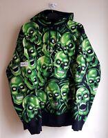 Supreme Skull Pile Hooded Sweatshirt Hoodie - Large