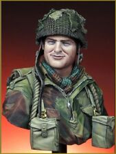 1/10 Young Miniatures WWII British Paratrooper Arnhem 1944 Bust Resin kit