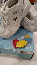 Power, Stunt Pro II, cheer leading shoes,youth size 1, white with color swatches