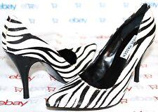 "✿STEVE MADDEN Arouse Animal-Print Calf-Hair 3.75"" Heel Pump 6.5 M GREAT! L@@K!12"