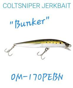 """SHIMANO COLTSNIPER JERK 170F - """"BUNKER"""" & """"SAND EEL"""" - BUY 2 OR MORE & SAVE $$!"""