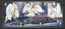 PITCAIRN 2019 CHRISTMAS ANGELS OVER ISLAND SE-TENANT COMP. SET OF 3 STAMPS MINT