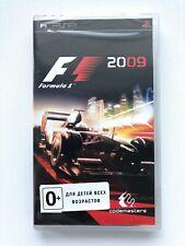 Formula 1 F1 2009 Sony PSP Brand New Factiory Sealed