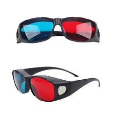 3D Vision Ultimate 3D Glasses Fit Over Prescription Glasses Red Blue 1pc