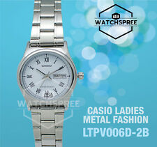 Casio Ladies' Analog Watch LTPV006D-2B LTP-V006D-2B
