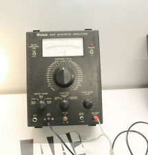 McIntosh AA2  Working Acoustic Analyzer w/ CM-201 Condenser Microphone