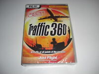 TRAFFIC 360 Pc DVD Rom Add-On Expansion Flight Simulator Sim X FS FSX NEW SEALED