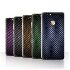 Étuis, housses et coques Huawei en fibre de carbone pour téléphone mobile et assistant personnel (PDA)