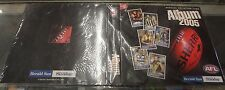 Afl 2005 Herald Sun official Collector Card Binder with all 192 cards