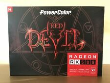 PowerColor Red Devil Radeon RX 580 8GB GDDR5 AXRX 580 8GBD5-3DH/OC Video Card