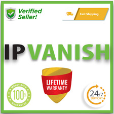 IPVANISH VPN ✔ PREMIUM ACC ✔ LIFETIME WARRANTY ✔ AUTO RENEWAL ✔ FAST SHIPPING ⭐️
