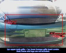 Fits Ford Focus Billet Grille Combo 98-04
