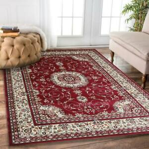 Classical 4638 Rug Red Large Traditional Persian Rug 5 SIZES Carpet FREE POST*