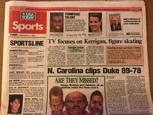 Vintage 1994 USA Today Newspaper PEYTON MANNING Tennessee Football Signing Day