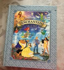 Disney Book Enchanted Tales Children's Book 2005 Beauty And Beast Lion King HB