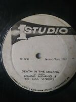 "Equal Rights / Death In The Arena 12"" Vinyl Single STUDIO 1"