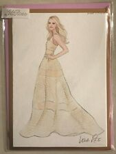 Papyrus Blank Inside Greeting Card New in Packaging - Lela Rose Long Dress