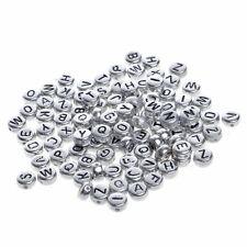 Alphabet Perles Lettre Perle pour Jouet Bracelet Collier Bijoux Fourniture