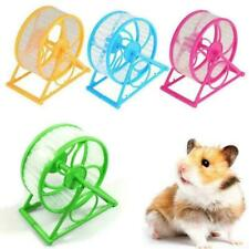 Wheel Toy Play With holder Plastic Pet Rodent Hamster Spinner Toys Exercise T5C1