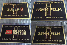 Super 8mm 16MM 35MM Elmo GS1200 Cinema Signs Super 8 reel Film