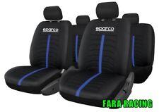 SPC3502BL Cora - Sparco – Serie completa Fodere per Sedili - Nero/Blu