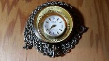 VINTAGE JULIETTE LADIES POCKETWATCH BY HERITAGE – SWISS MADE - READ DESCRIPTION