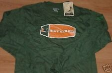 University Of Miami Hurricanes Long Sleeve T-shirt Medium Heisman Collection