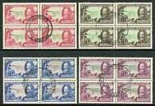 Southern Rhodesia 1935 Silver Jubilee SG88/91 Fine Used BLOCKS OF 4