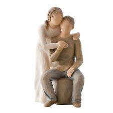 Willow Tree You and Me Figurine 26439 Love Couple Anniversary Branded Gift Box