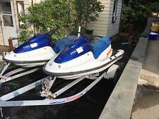 Pair of Polaris Freedom Jet Skis