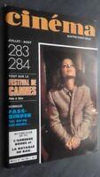 Rivista Cinema Luglio-Agosto 82 N° 283-84 Be