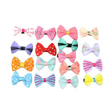 Hair Clips for Baby Girls Kids Candy Color Flower Print Cute Ribbon 10Pcs Clips