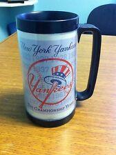 1996 BUDWEISER NEW YORK YANKEES STADIUM GIVEAWAY THERMAL MUG 1996 CHAMPIONSHIP