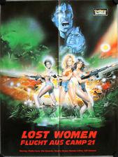 Sweet Sugar German video promo movie poster A2 Lost Women Flucht aus Camp 21