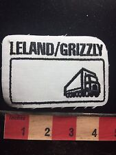 Semi-Truck Tractor Trailer Patch LELAND/GRIZZLY -could cut off Lel-Grz Part C75L